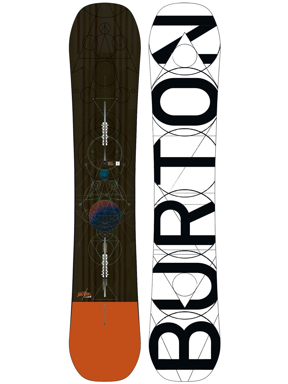 Custom 166 Wide 2018 Snowboard
