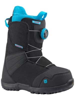 Burton Zipline Boa 2018 Youth black Gr. 4K US