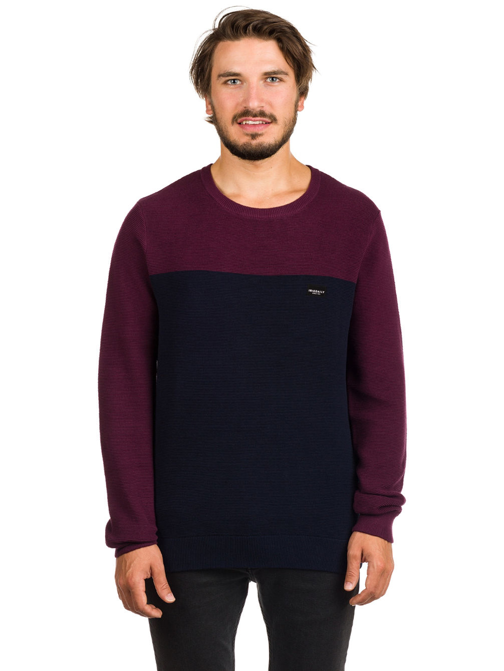 Auf Deck Stripe Knit Pullover