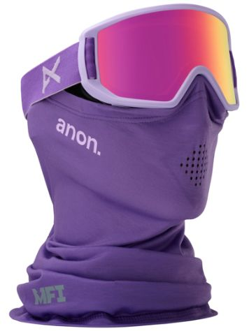 Anon Relapse Jr MFI Purple (+Facemask) Youth Goggle jongens