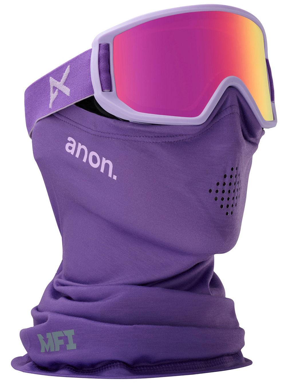 Relapse Jr MFI Purple (+Facemask) Youth Goggle