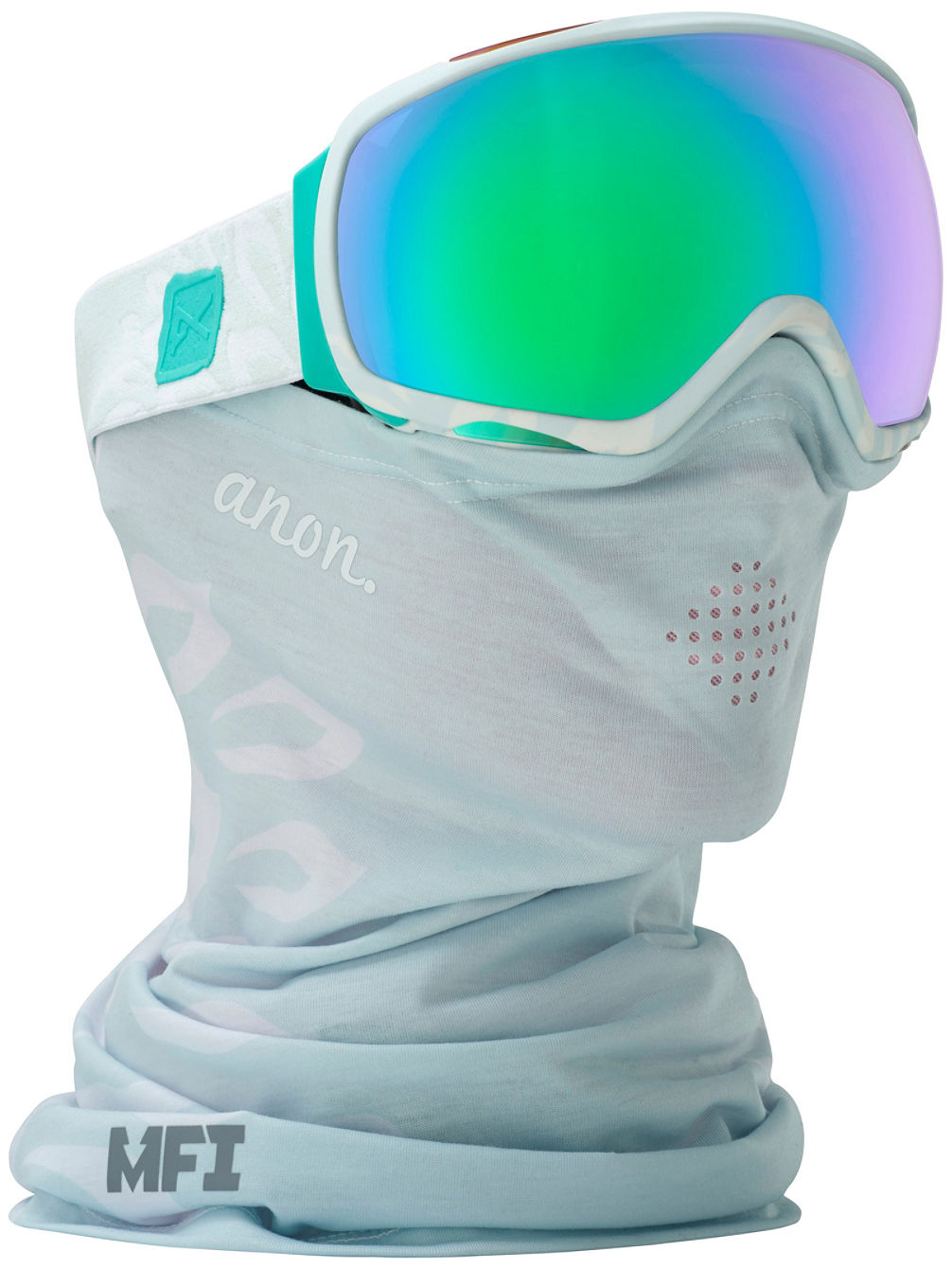 Tempest MFI Empress Wht (+Facemask) Goggle