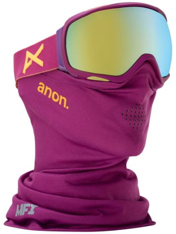 Anon Tempest MFI Purple (+Facemask) Goggle