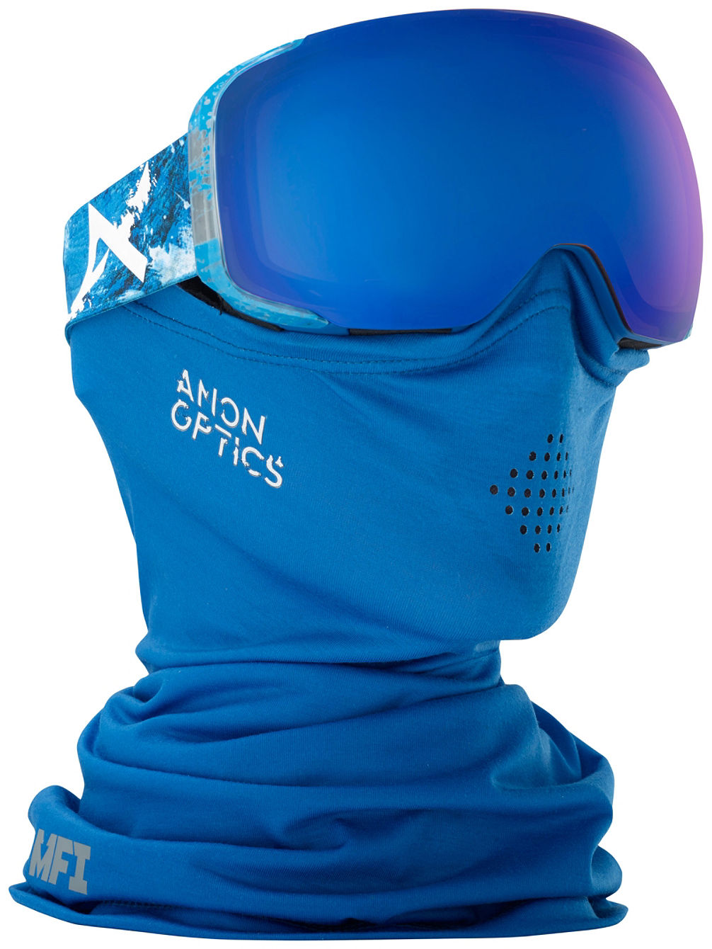 Charmant Anon M2 MFI Hiker Blue (+Facemask U0026 Bonus Len Goggle Online Kaufen Bei Blue  Tomato