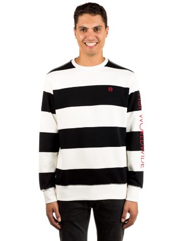 HUF Catalina Stripe Crew Fleece Sweater