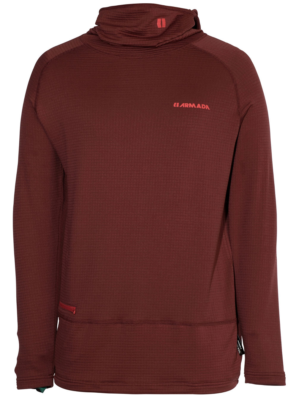 Rotor Lw Hooded Tech Tee LS