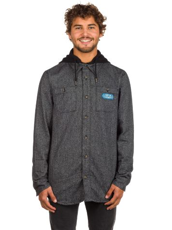 Armada Reading Flannel Hoodie Shirt LS
