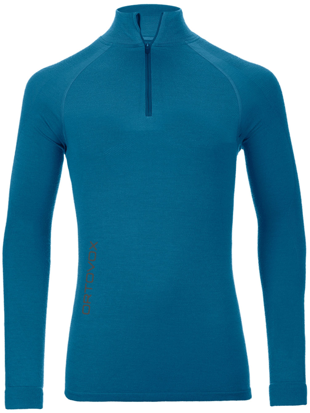 Merino Comp Zip Neck Tech Tee LS