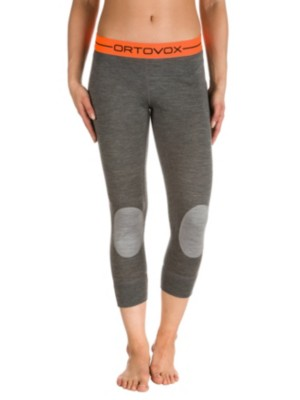 Ortovox Merino 185 Rock'n'Wool Short Tech Pants dark grey blend Gr. L