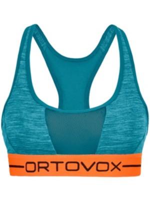 Ortovox Merino 185 Rock'n'Wool Sport Top aqua blend Gr. L
