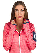 Melange Hooded Fleece Jacket