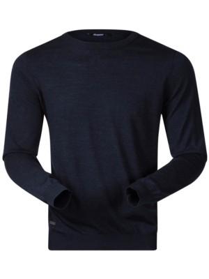 Bergans Fivel Wool Tech Tee LS dark blue melange Gr. XL