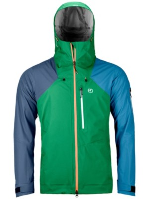 Ortovox Merino Naked Sheep 3L Ortler Jacket irish green Gr. M