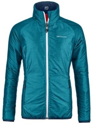 Ortovox Swisswool Piz Bial Fleece Jacket aqua blend Gr. L