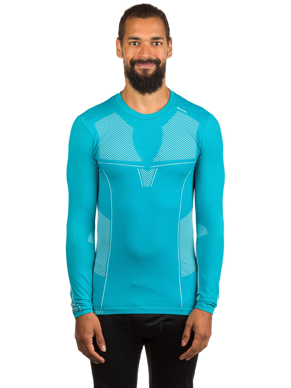 Primo Warm LS CN Seamless Tech Tee LS