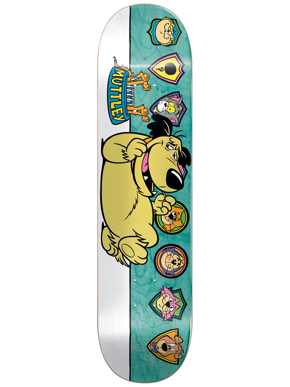"Muttley Plaques R7 8.125"" Mullen Skate Deck"