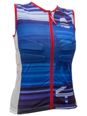 Marker Body Hybrid Vest blue / purple / white Gr. S