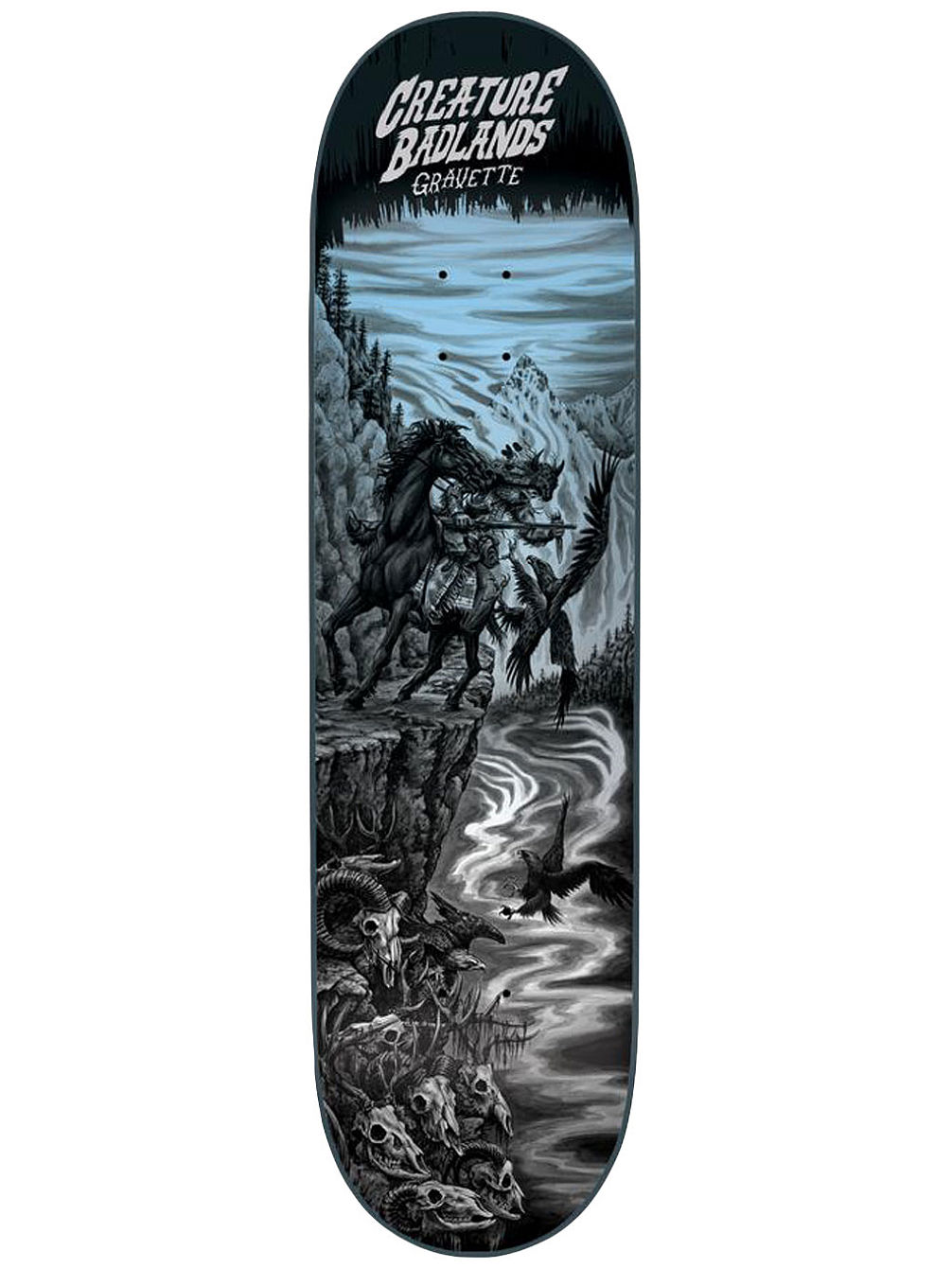 "Gravette Back to the Badlands 8.25"" Skate De"