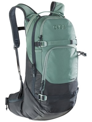 Evoc Line 18L Backpack black / olive Gr. Uni