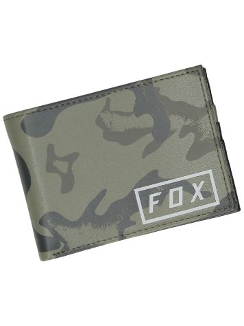 Fox Camo Pinned Pu Wallet