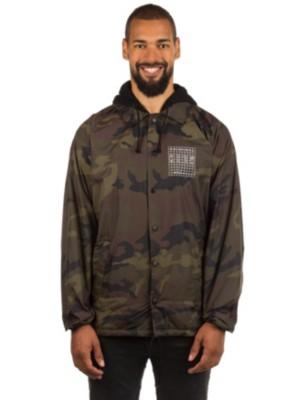 KR3W Locker Grid Hood Coaches Jacket camoflauge Gr. L