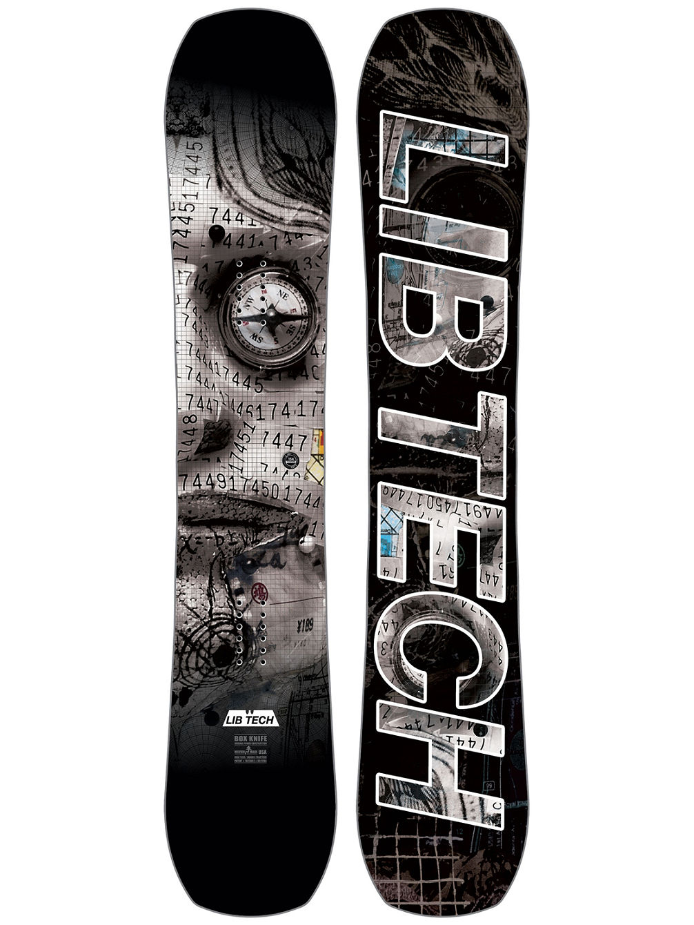 Box Knife C3 157 2018 Snowboard