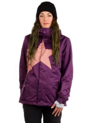 Zimtstern Snowy Herringbone Jacket plum Gr. XS