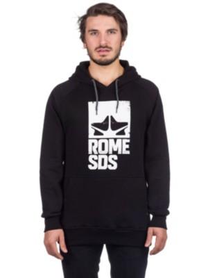 Rome Logo Giid Hoodie black Gr. M