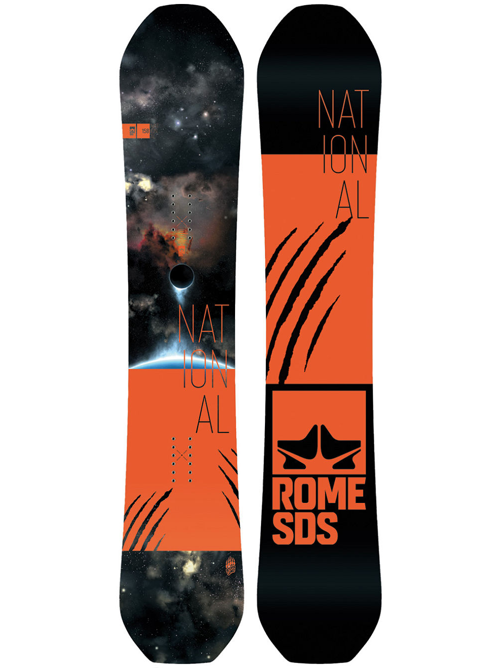 National Bjorn 158 2018 Snowboard