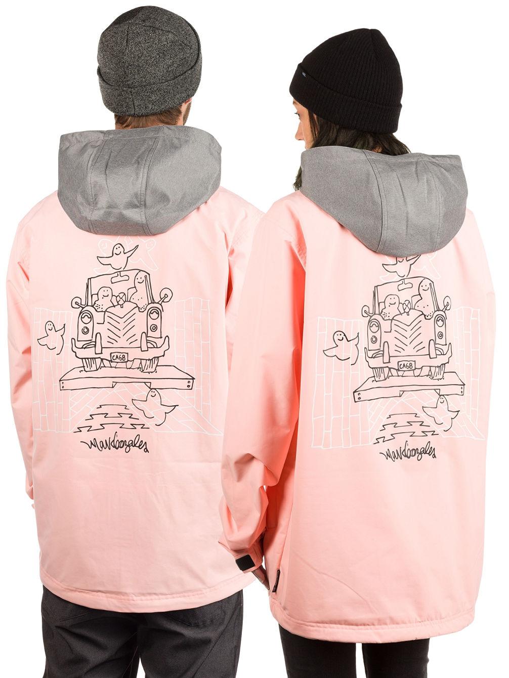 Adidas civilian snowboard jacket pink