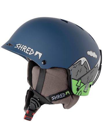 Shred Half Brain D-Lux Casque