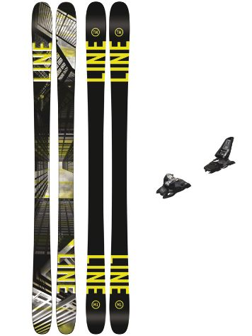 Line Tom Wallisch Pro 178 + Squire 11 90mm black 2018 Freeski-Set