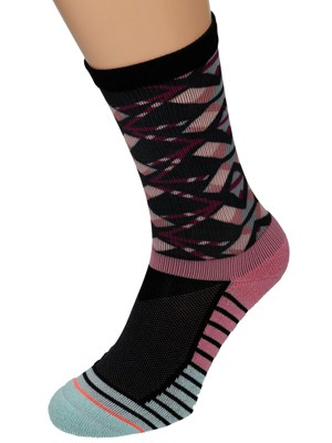Stance Axis Crew Athletic Socks purple Gr. S