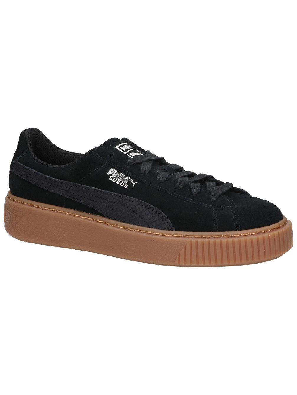 69b448bc5e5 Buy Puma Basket Platform Animal Sneakers online at blue-tomato.com