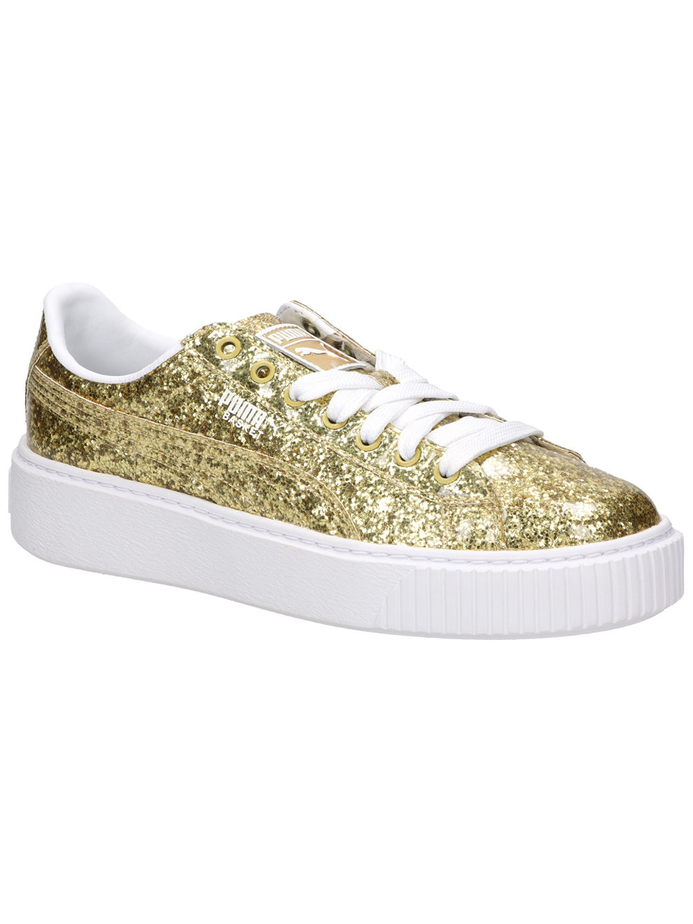 Compra Puma Basket Platform Glitter Wn s Sneakers Women online su ... 54aaac7314a
