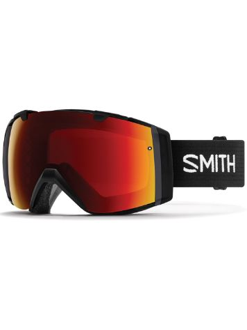 Smith I/O Black (+Bonus Lens) Goggle