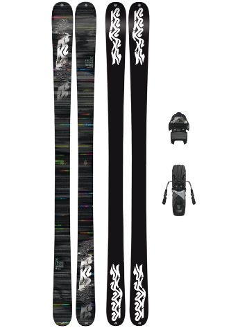 K2 Press 149 + Free Ten 85mm blk/wht 2018 Conjunto freeski