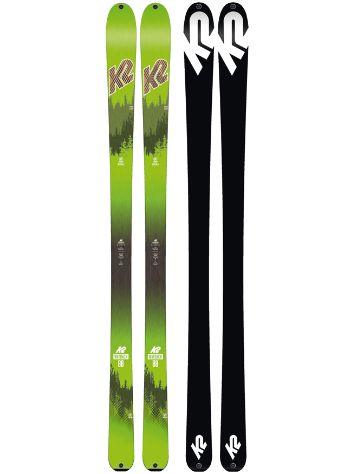 K2 Wayback 88mm Ecore 167 2018 Touringski