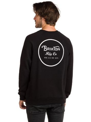 Brixton Wheeler Crew Fleece Jersey