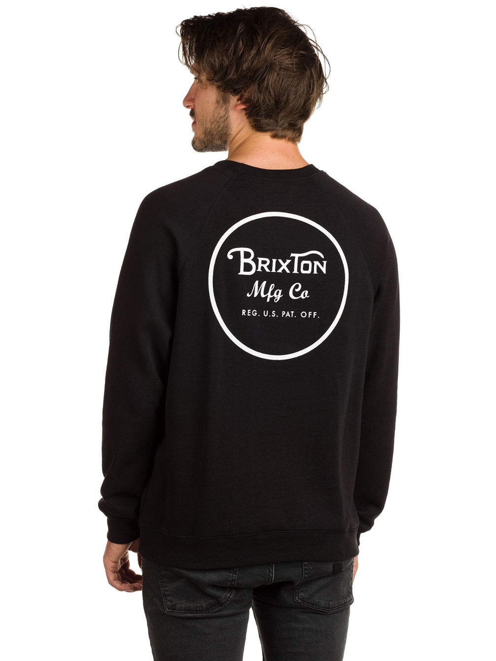 Wheeler Crew Fleece Sweater