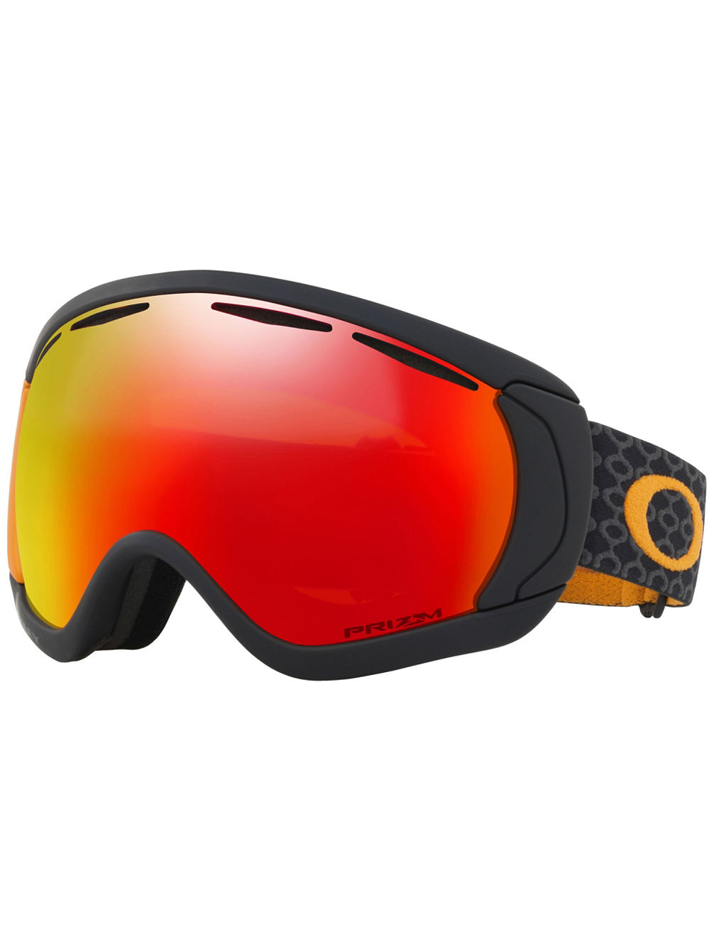Canopy Aksel Lund Signature Skygger Black Orange Goggle
