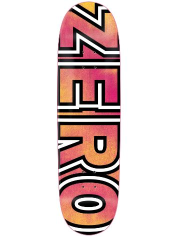 "Zero Team Bold Pink Yellow 8.625"" Skate Deck"