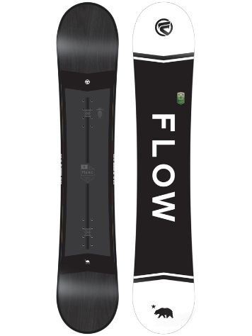 Flow Merc Black 153 2018 Snowboard
