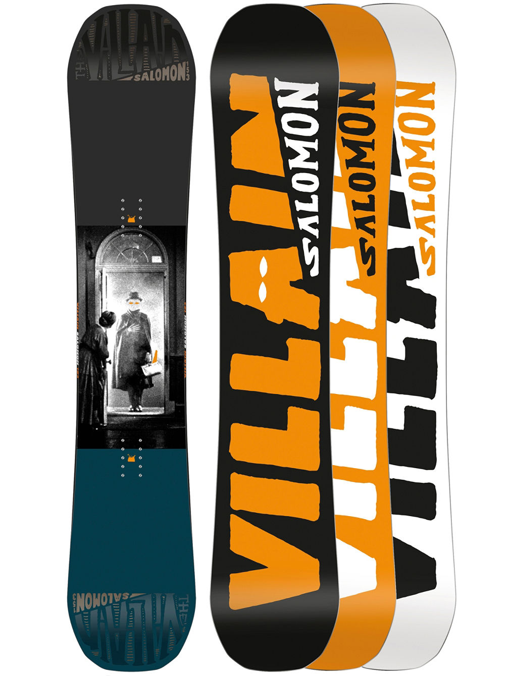 The Villain 153 2018 Snowboard