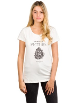 Picture Cone T-Shirt a white Gr. M