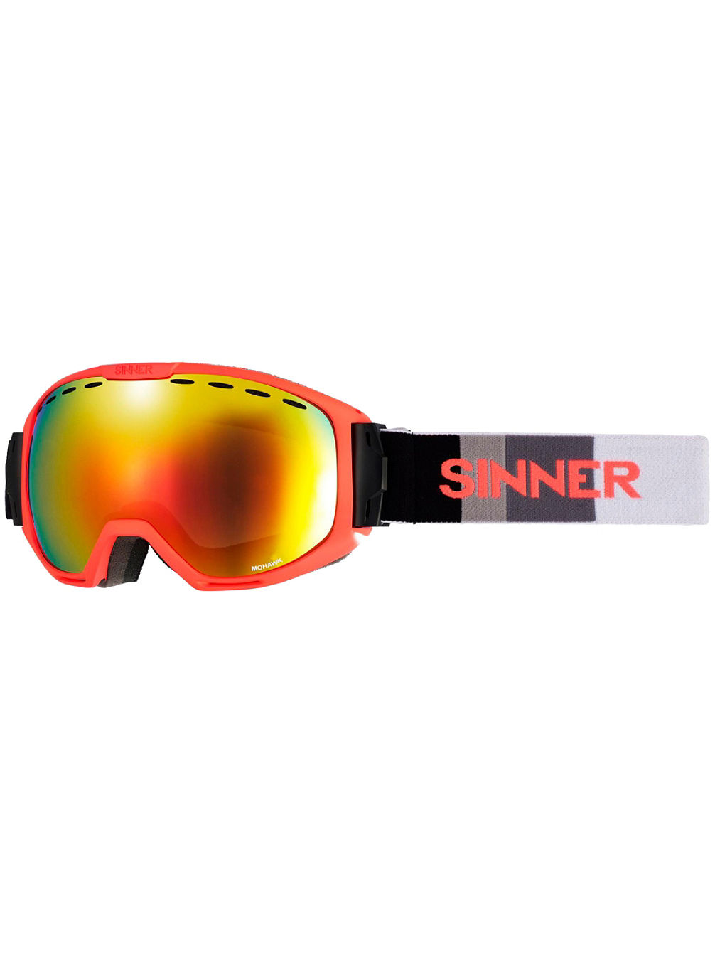 51d3c68a8cb Buy Sinner Mohawk Matte Neon Orange (+Bonus Lens) online at Blue Tomato