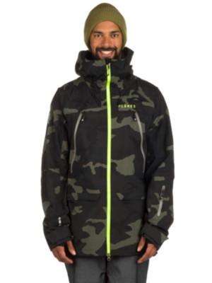 Planks The Yeti Hunter 3 Layer Jacket midnight camo Gr. XL