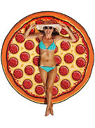 Pizza Beach Handtuch