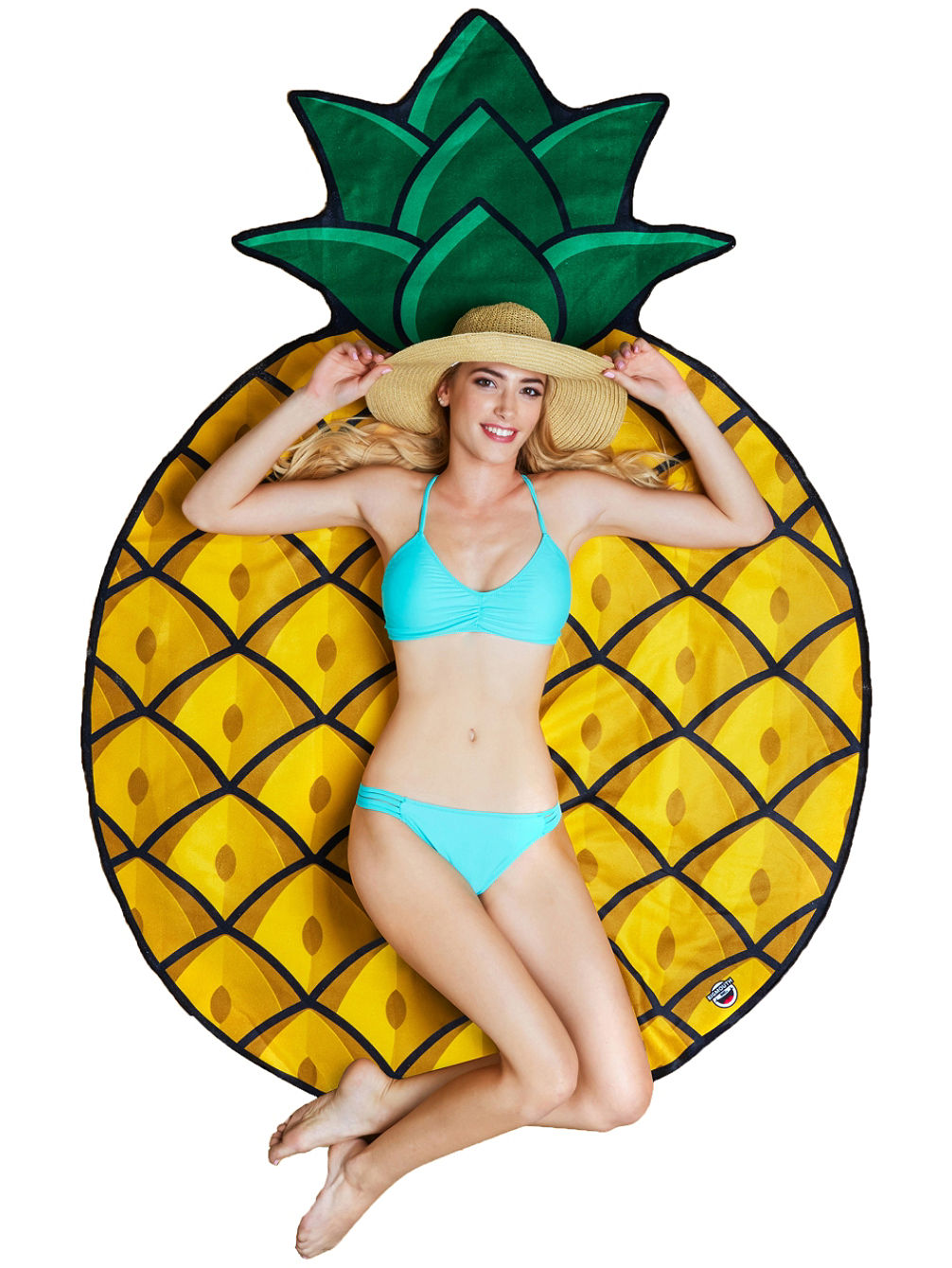 Pineapple Beach Handtuch