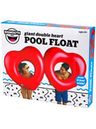 Pool Float Giant Two Of Hearts